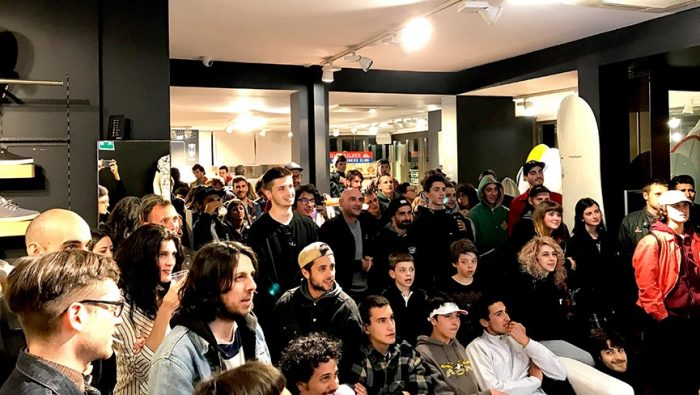 "Grande successo del ""Boardriders SharkyParty"""