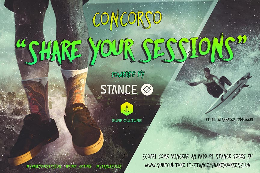 CONCORSO SHARE YOUR SESSIONS