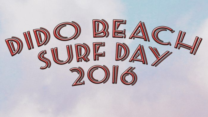 DIDO BEACH SURF DAY 2016