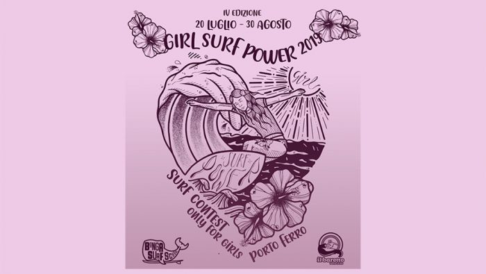 4°edizione Girl Surf Power in Sardegna
