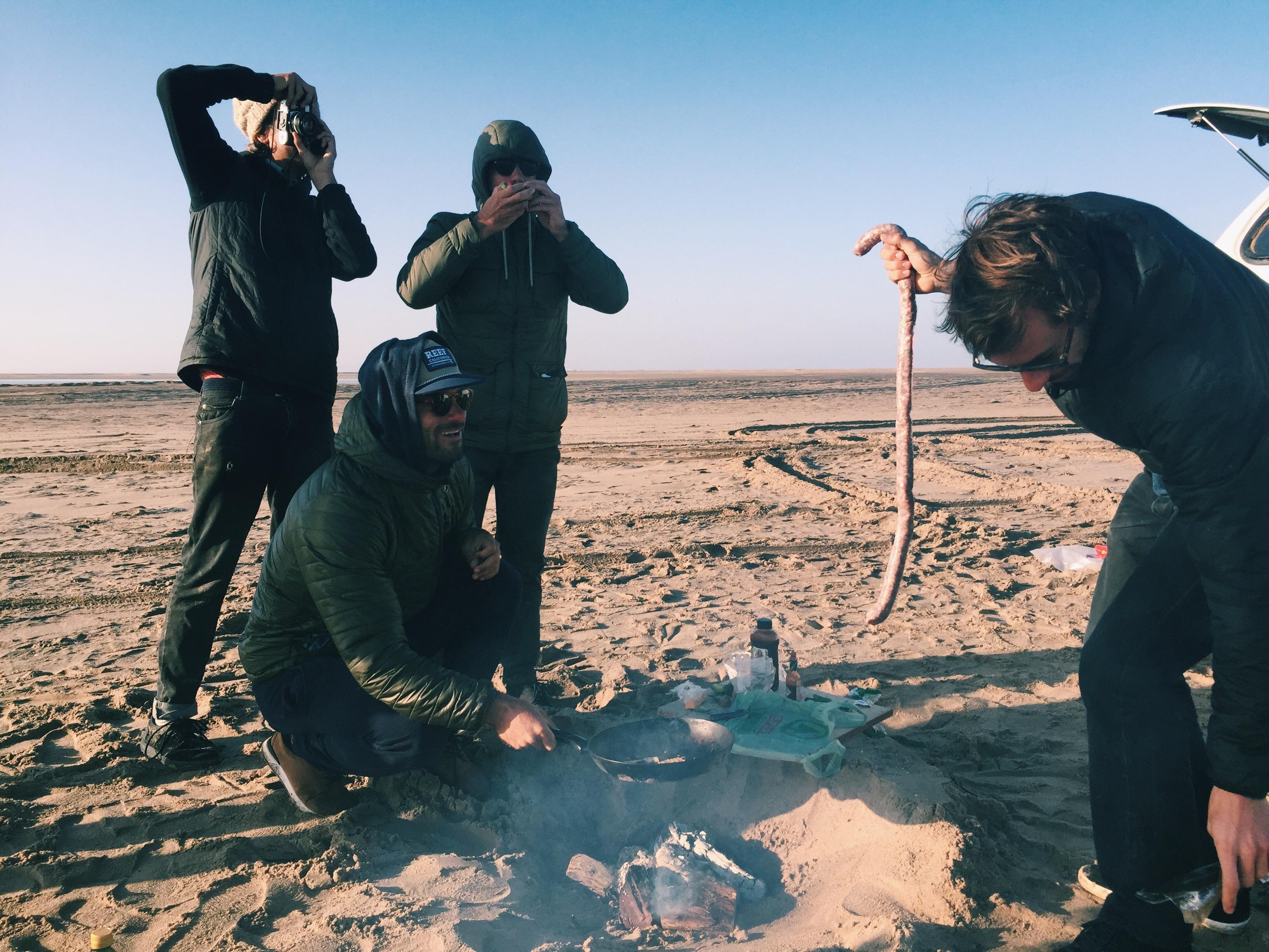 Roberto D'Amico Eugenio Barcelloni Namibia Skeleton Bay intervista