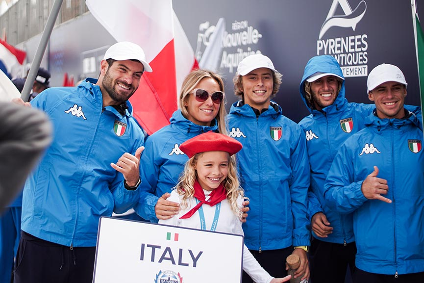 ISA World Surfing Games. Il video recap del team Italy