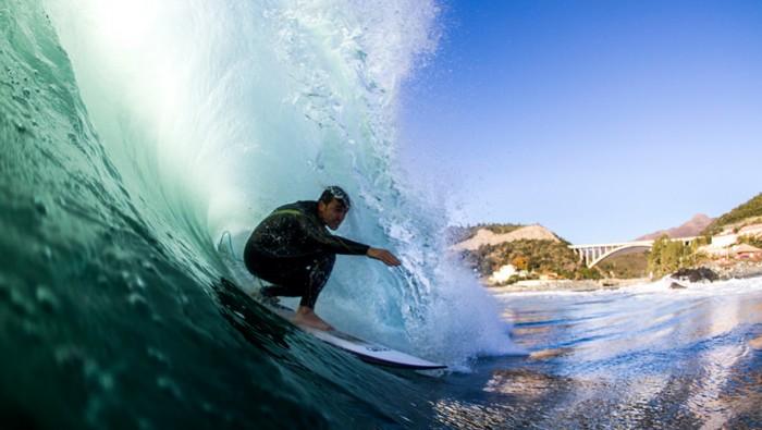 marco giacchero surfculture bacskide barrel
