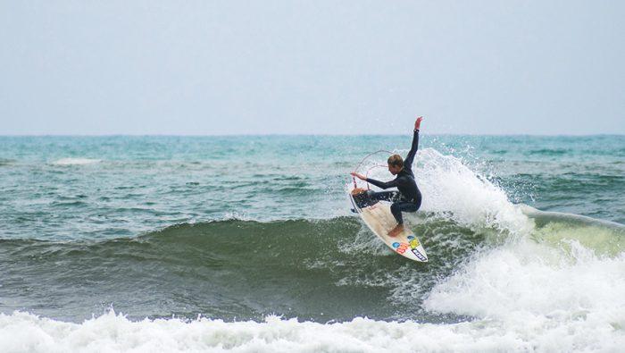 Matteo Calatri pronto per la stagione estiva con il suo quiver Twinsbros Surfboards