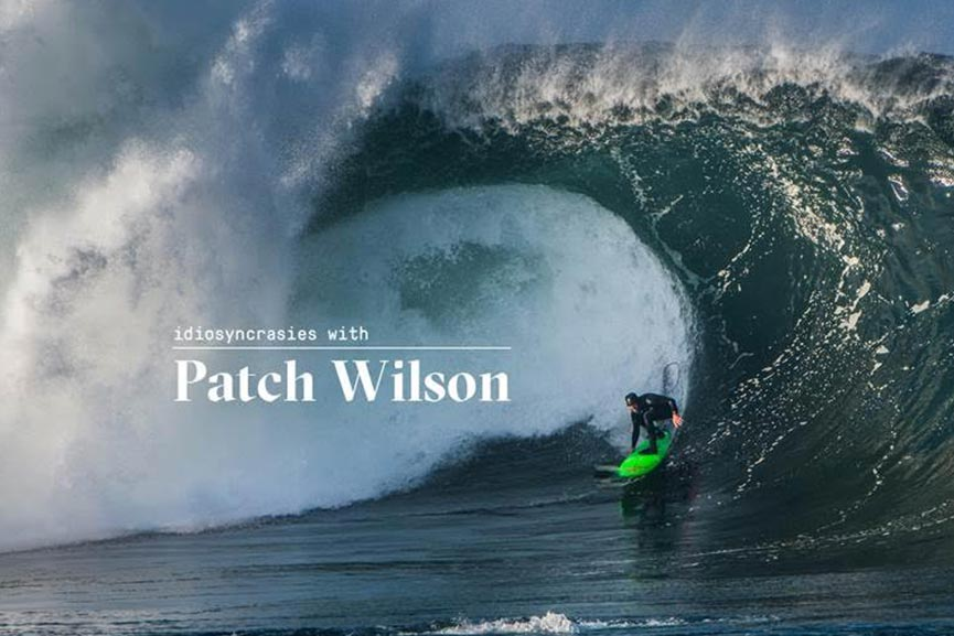 IDIOSYNCRASIES WITH PATCH WILSON