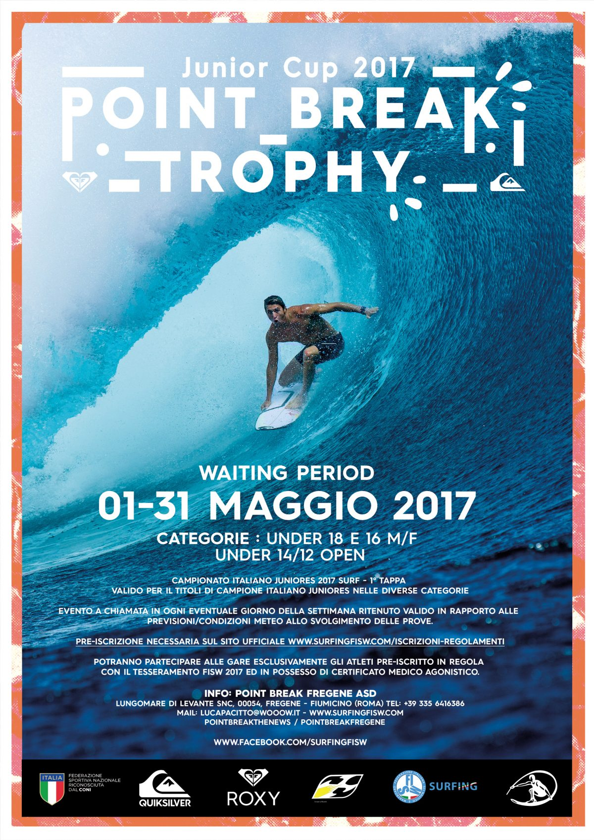 Semaforo rosso per il Point Break Junior Cup Trophy 2017