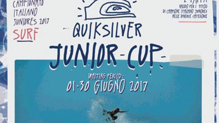 Ancora aperte le iscrizioni per la Quiksilver Junior Cup 2017