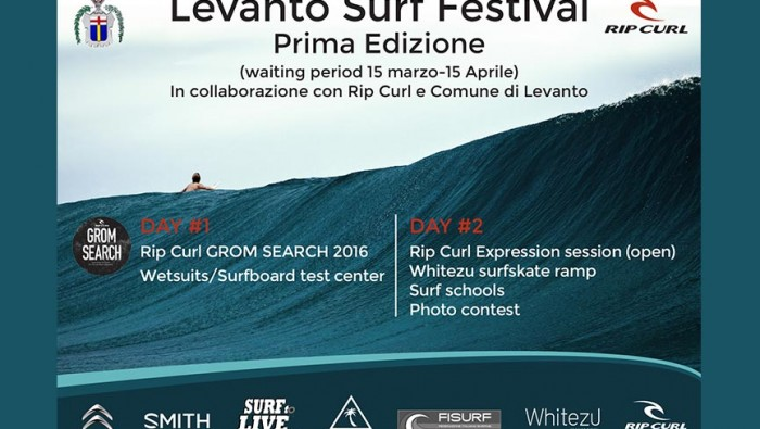 RipCurl Grom Search Levanto 2016