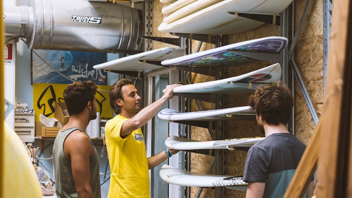 twinsbros surfboards factory surfculture