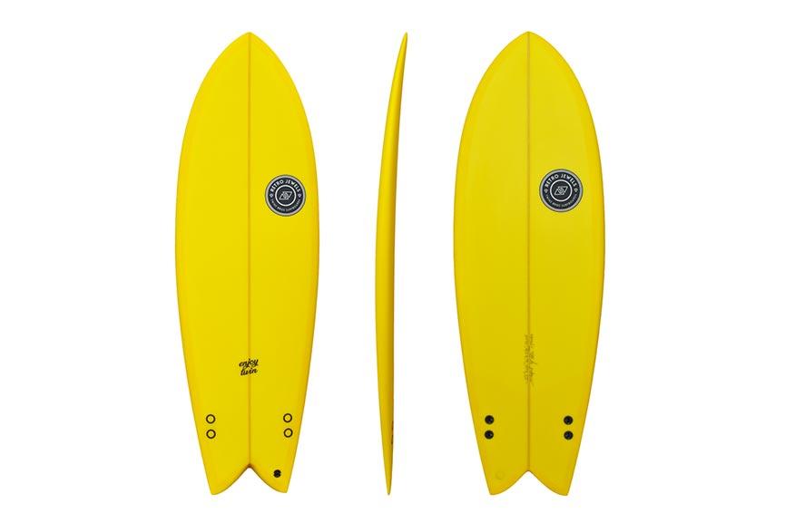 Enjoy Twin model by Twinsbros Surfboards