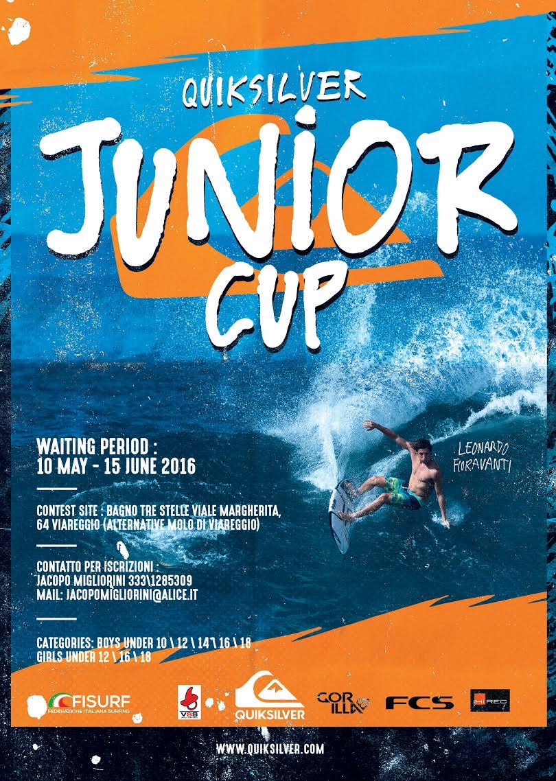 quiksilver versilia junior cup 2016