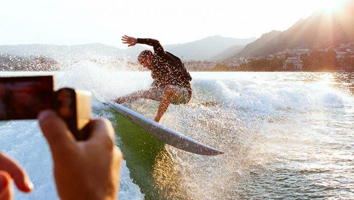 Angelo Bonomelli Wake Surf Session