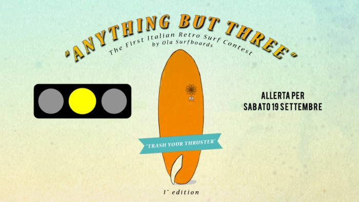 anything but three surf contest semaforo giallo