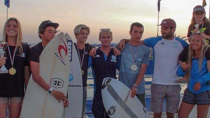 Assegnati i titoli nazionali Juniores FISW Surfing