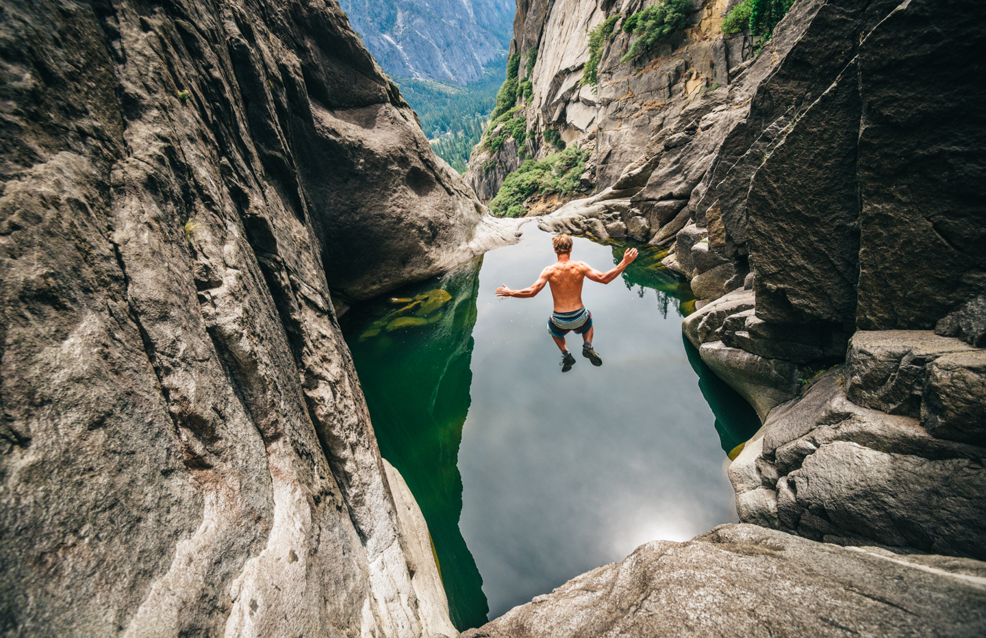 S17_PHOTO RIGHTS EXPIRE March 8, 2018: Trevor Hobbs takes a leap in Yosemite National Park.
