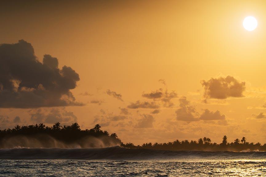 Report Maldive Surf Trip 2017