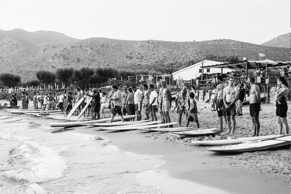 I surfisti della provincia di Latina salutano Leonardo D'Angelo