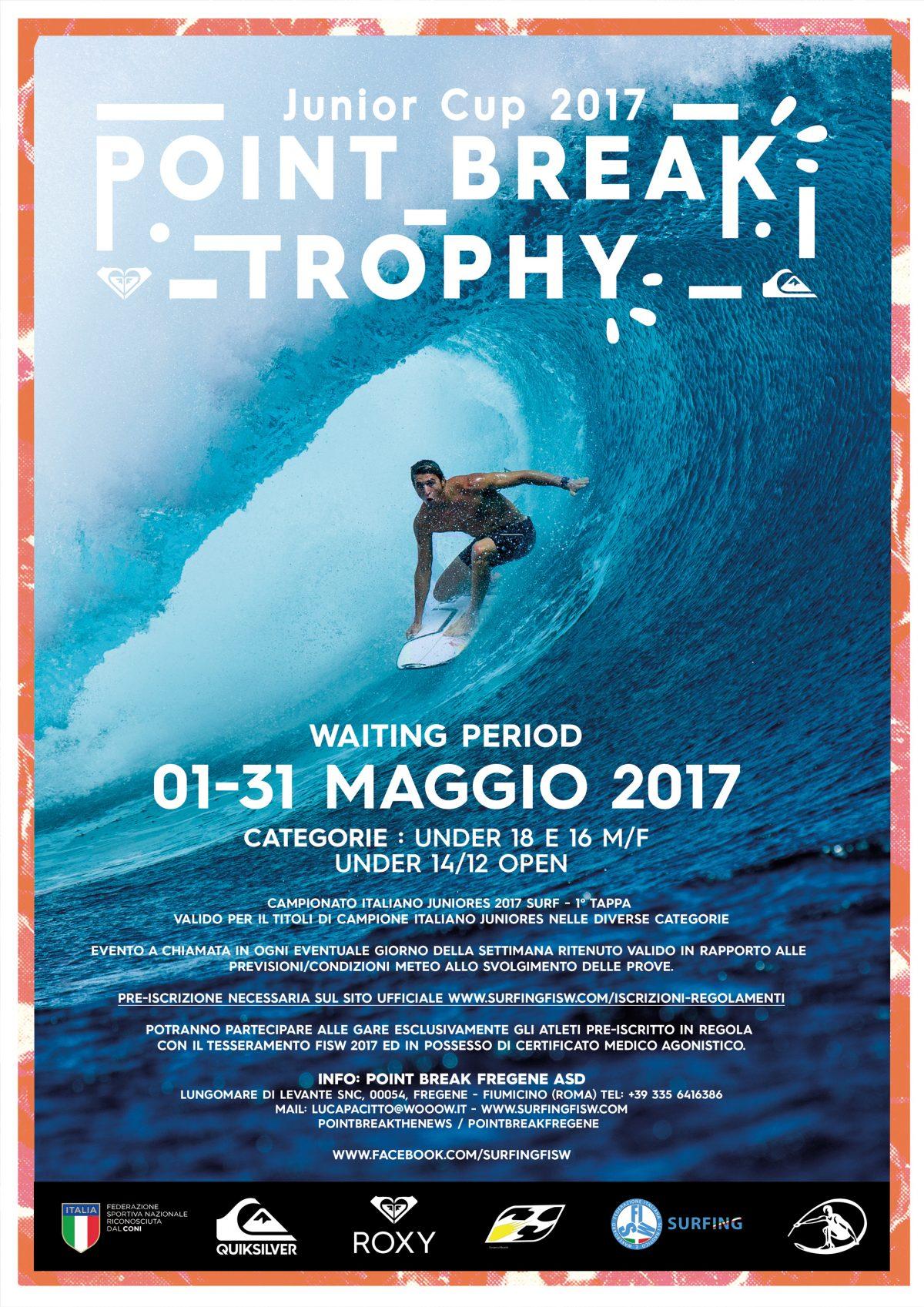 Point Break Trophy Junior Cup 2017