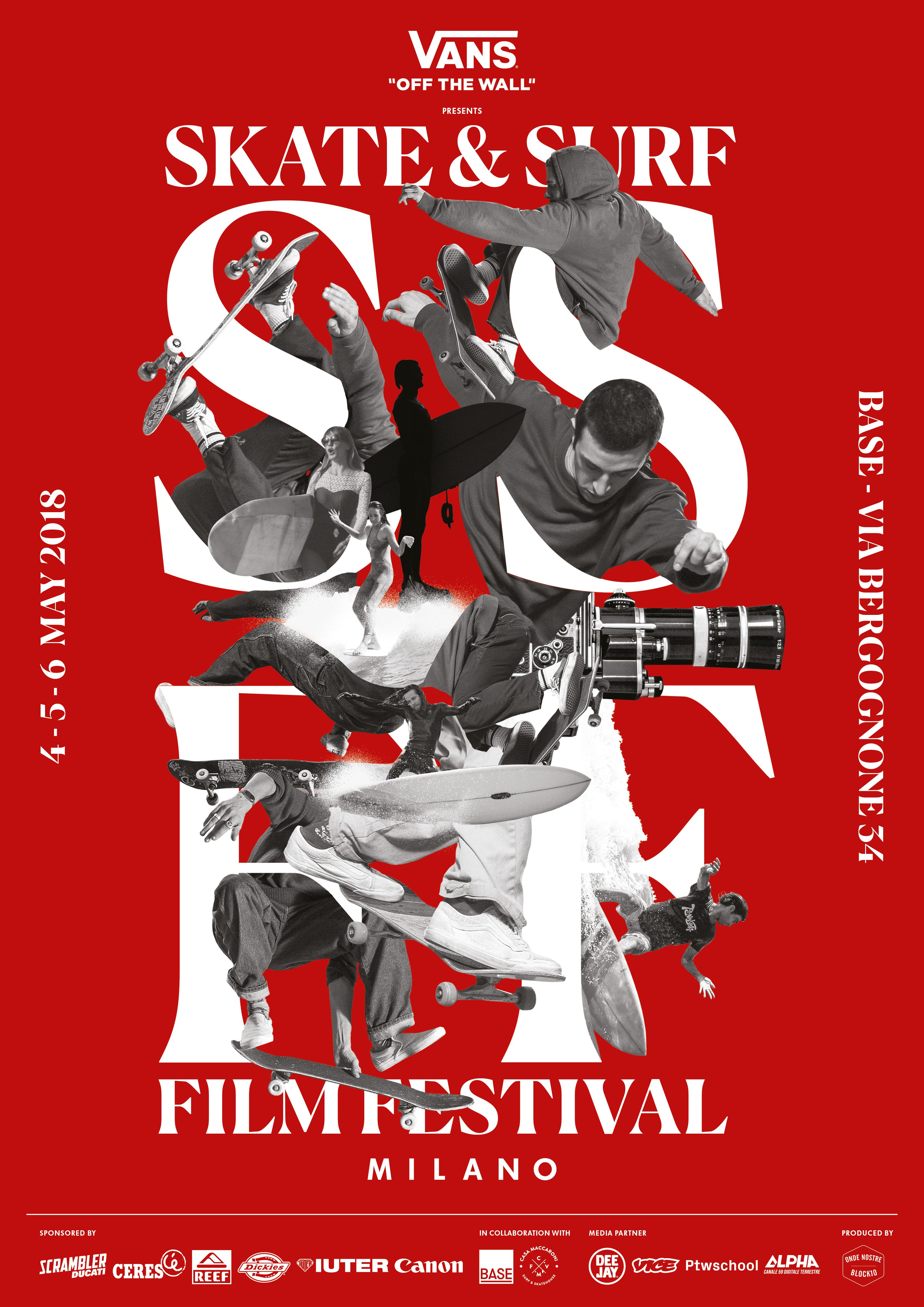 SSFF 2018 - Skate e Surf Film Festival Milano