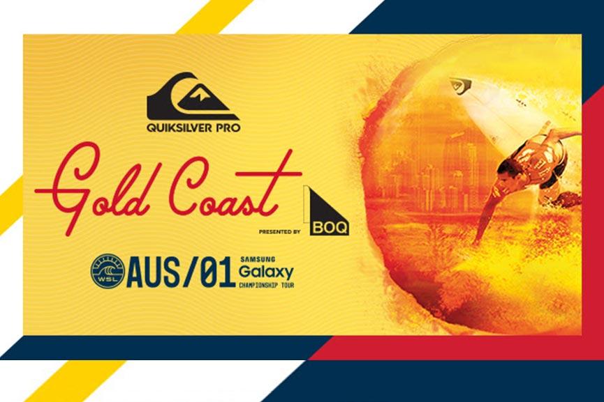 Parte il Quiksilver Pro Gold Coast