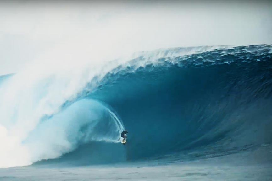 Ramon Navarro ha surfato l'onda più grande a Cloudbreak?