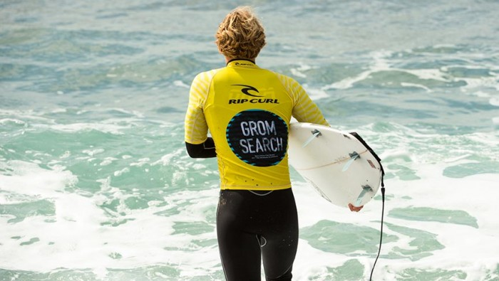 Report RipCurl Grom Search Levanto 2016