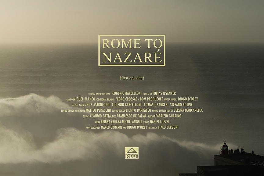 Rome to Nazarè by Eugenio Barcelloni