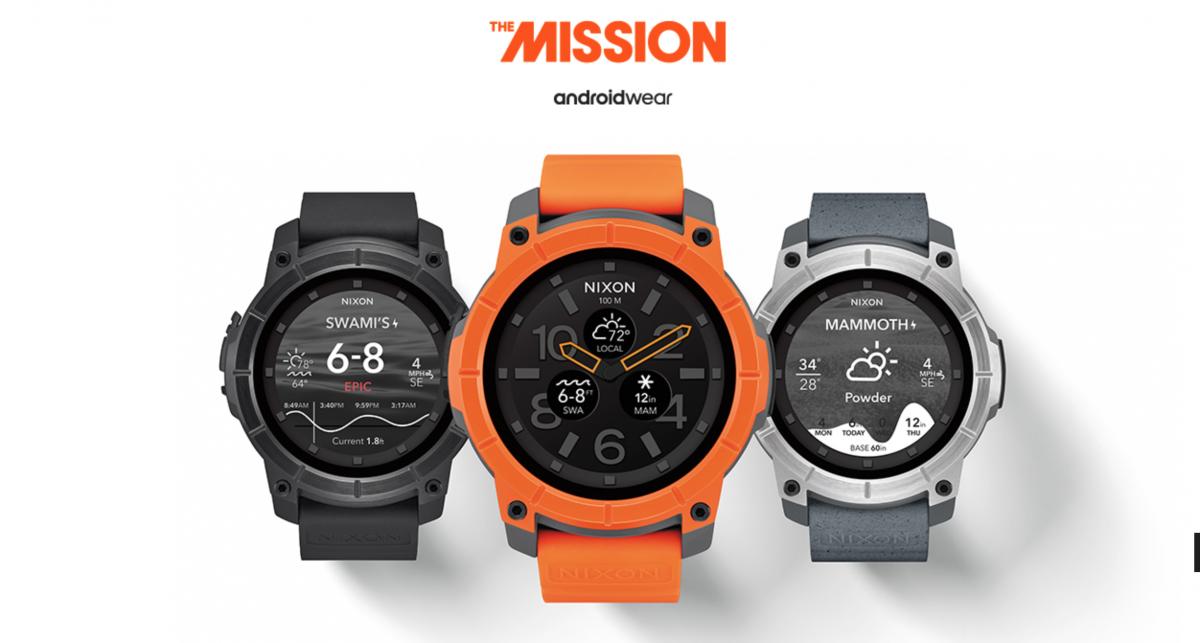 Nixon presenta il primo orologio sportivo Android