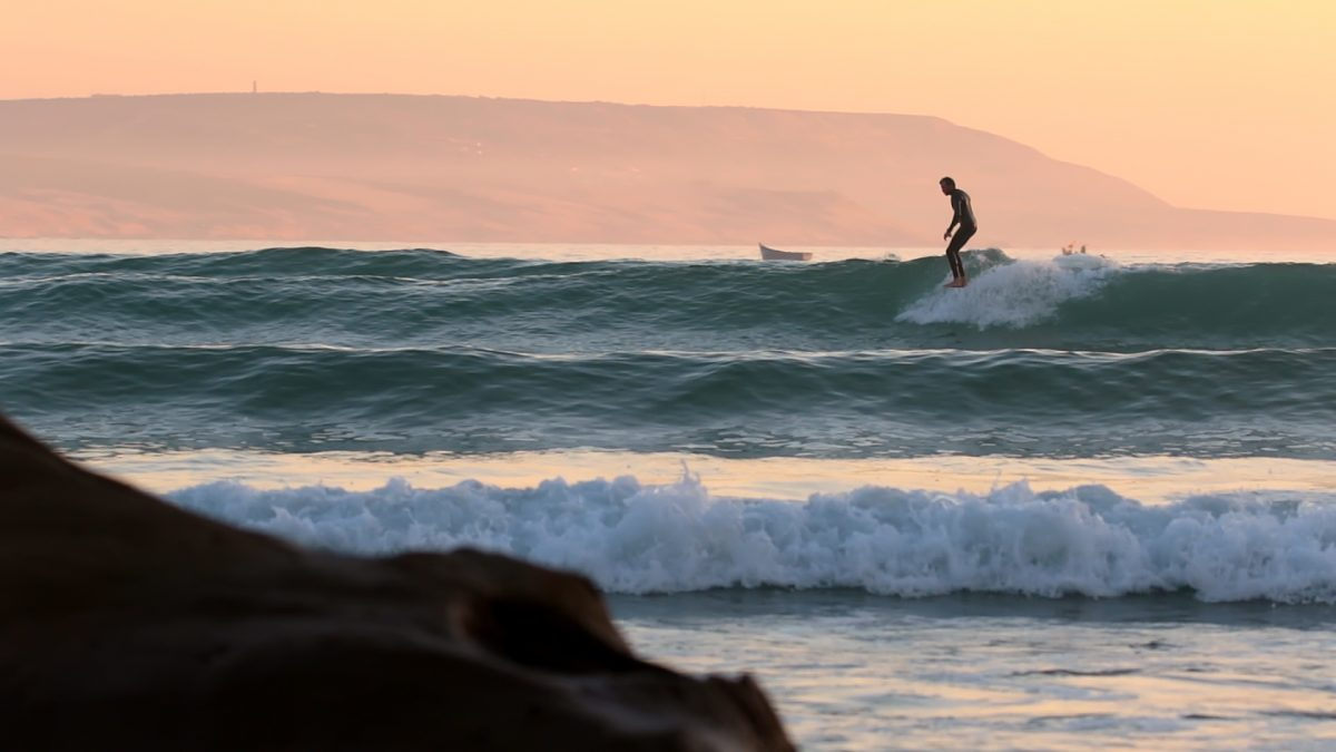 Matteo Fabbri in Sliding Sunset