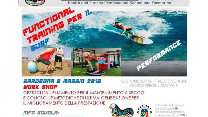 FUNCTIONAL TRAINING PER IL SURF IN SARDEGNA