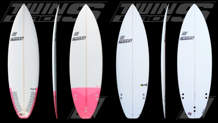TWINSBROS SURFBOARDS FAMILY 2015