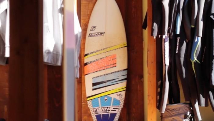 Twinsbros Surfboards Model Tank